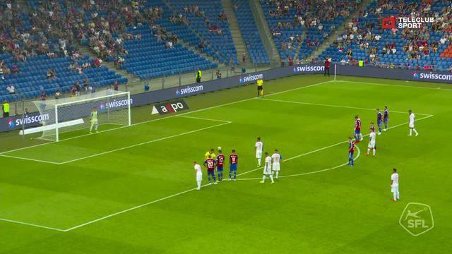 Super League, 2018/19, 3. Runde, FC Basel – Grasshoppers, Verschossener Penalty von Marco Djuricin