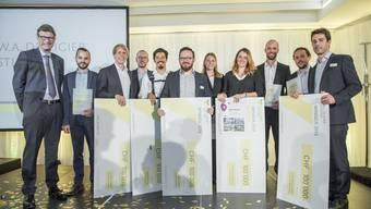 Preisverleihung der De Vigier Stiftung 2018