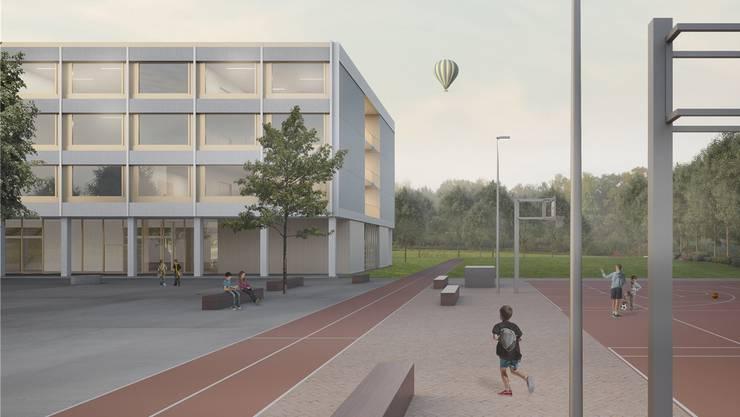 Im Architekturwettbewerb hat das Projekt «Pfifferling» gewonnen. Dieses sowie die fünf anderen Wettbewerbsbeiträge können am Wochenende im alten Feuerwehrgebäude (Oberdorfstrasse 1) angeschaut werden (Sa. 10-14 Uhr, So. 10-12 Uhr).