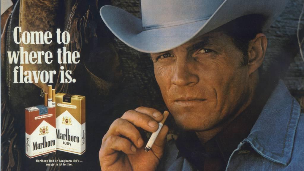 Ein Bild aus alten Tagen: Der «Marlboro Man» ist als Werbefigur bis heute Kult. (Archivbild)