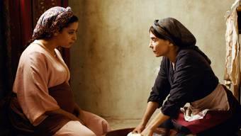 Überzeugen in ihren Rollen: Samia (links) und Abla.