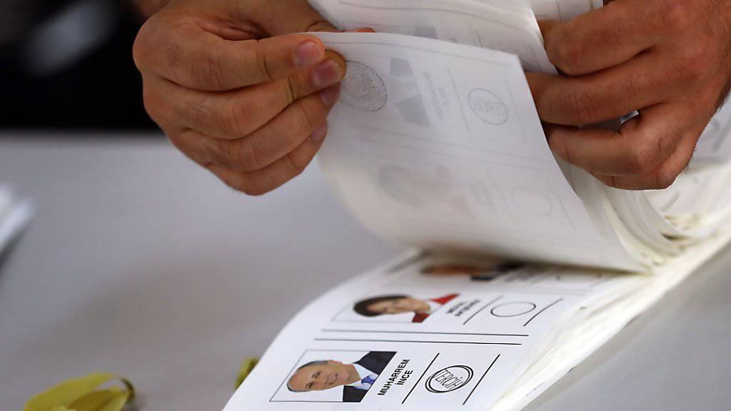 OSZE macht «ungleiche Bedingungen» bei Wahlen in Türkei geltend