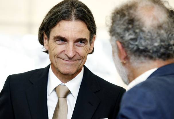Der Aargauer Thomas Knecht wurde als Unternehmerförderer des Jahres ausgezeichnet.