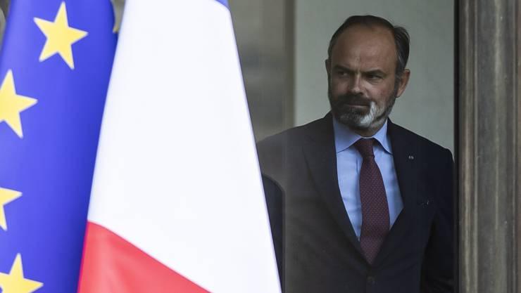 Die Regierung um den französischen Premierminister Edouard Philippe ist zurückgetreten.