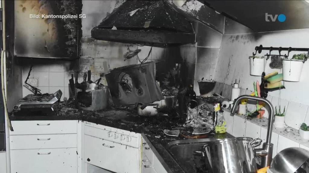 Kurznachrichten: Küchenbrand, Unfall, Feuerschutzgesetz