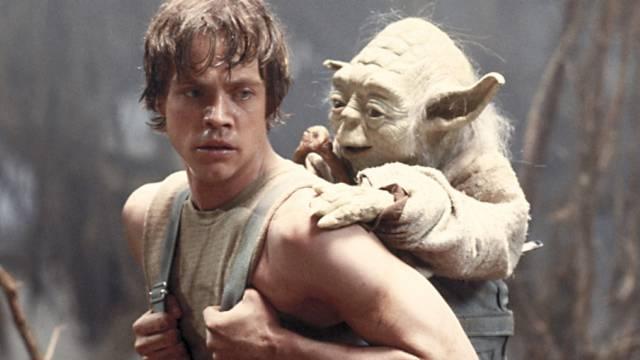 "Mark Hamill als Luke Skywalker in ""The Empire Strikes Back"" (1980)"