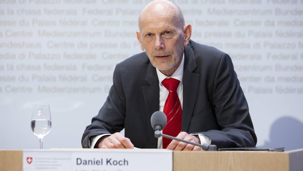 Daniel Koch, Leiter Abteilung übertragbare Krankheiten BAG