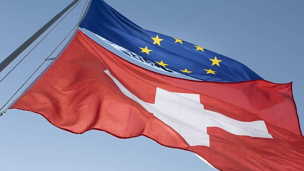 Brüssel hat die Schweizer Fahne gehisst.