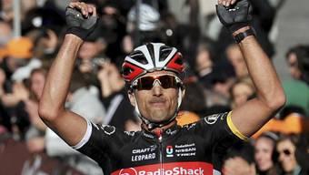Fabian Cancellara Sieger im Zeitfahren des Tirreno-Adratico