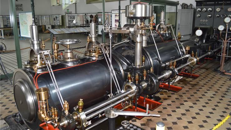 Die Dampfmaschine im Gasi-Museum wird am Sonntag ab 11 Uhr in Betrieg genommen. (Archiv)