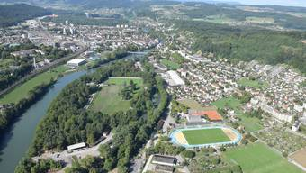 Im Gebiet der Sportanlage Au mit dem Stadion möchte der Verein für Studentisches Wohnen Region Brugg-Windisch einen Neubau realisieren.