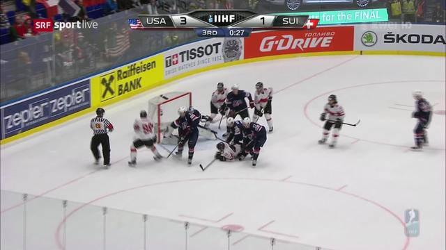 Eishockey- Schweiz – USA