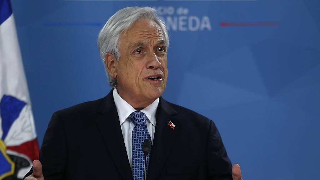 Staatschef Piñera ruft Opposition nach Unruhen zu Dialog auf