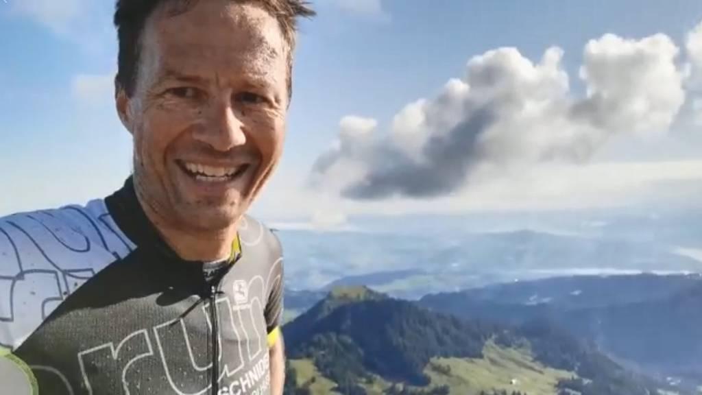 Oliver Imfeld will in zwei Tagen rund um den Kanton Luzern