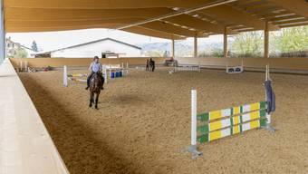 Die Halle ist die grösste Neuigkeit der diesjährigen Pferdesporttage.