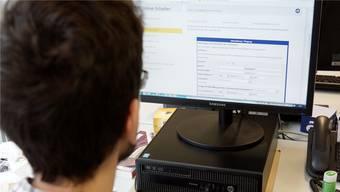 Auf der Internetseite der Gemeinde Tägerig kann man sich beim Wegzug online abmelden.