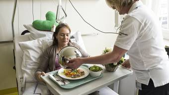 Spitalessen kommt aus der Mikrowelle