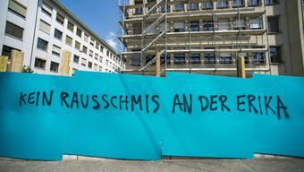 Massenkündigungen an der Erikastrasse in Basel