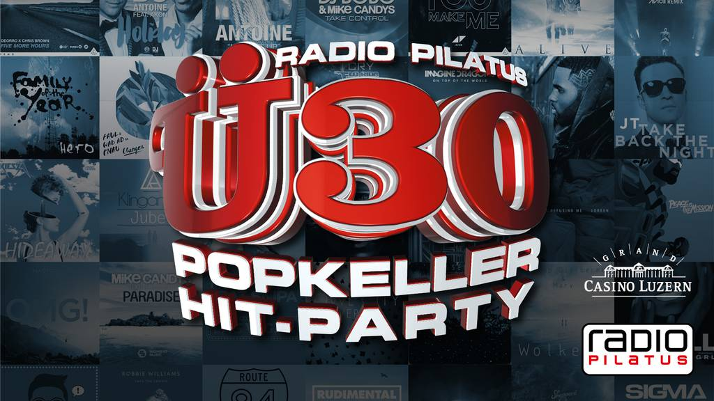 RADIO PILATUS Ü30 POPKELLER HIT PARTY: Määs-Special