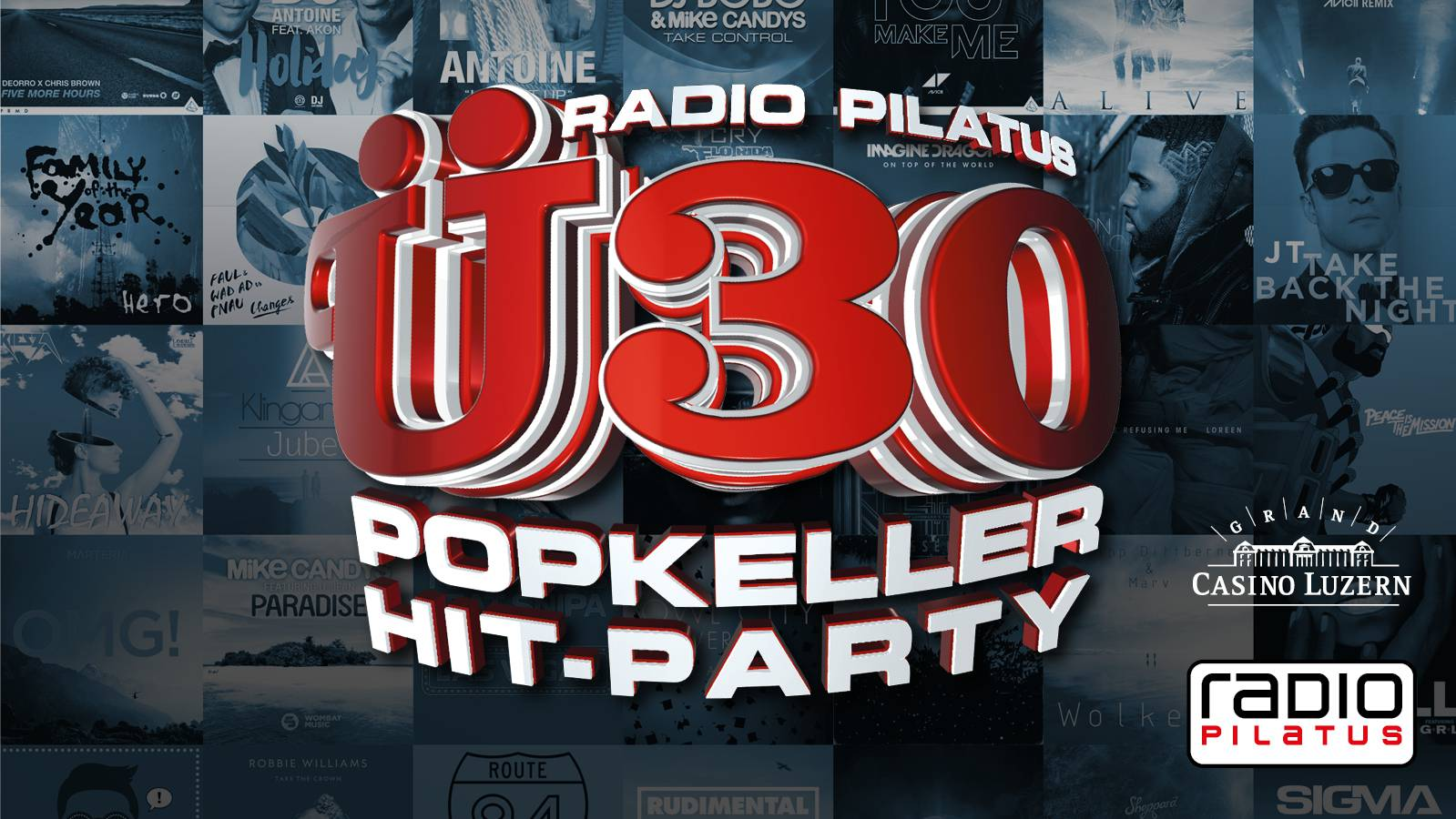 RADIO PILATUS Ü30 POPKELLER HIT PARTY