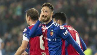 Nach dem Eigentor traf Ricky van Wolfswinkel auch noch ins richtige Gehäuse und sicherte dem FC Basel den 3:2-Sieg gegen Lugano.