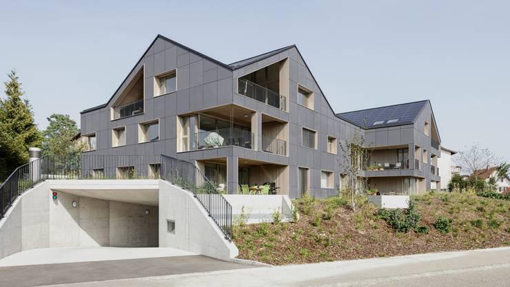 Erstes vollständig energieautarkes Gebäude in Brütten