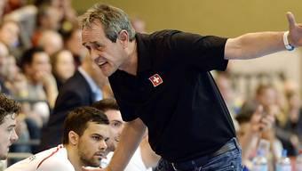 Rolf Brack coachte die Schweiz zum Pflichtsieg gegen Luxemburg