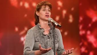 Die Aargauerin Maya Wirz riss in der TV-Sendung «Die grössten Schweizer Talente» Jury und Publikum von den Sesseln (Foto: SRF/Oscar Alessio)