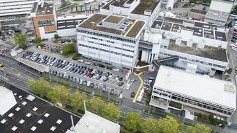 Der Hauptsitz des Fleischverarbeiters Bell in Basel. (Archivbild)