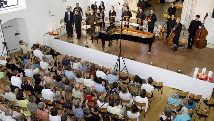 Boswil alte Kirche Konzert Boswiler Sommer