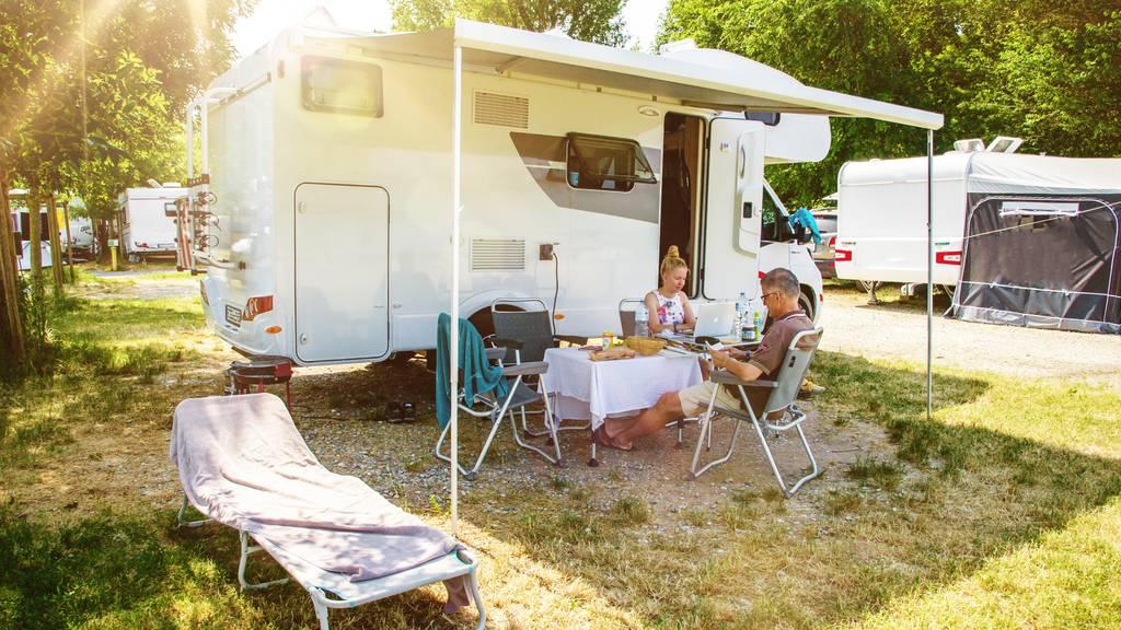 Wer im Sommer campen will, muss sich mit Reservieren beeilen