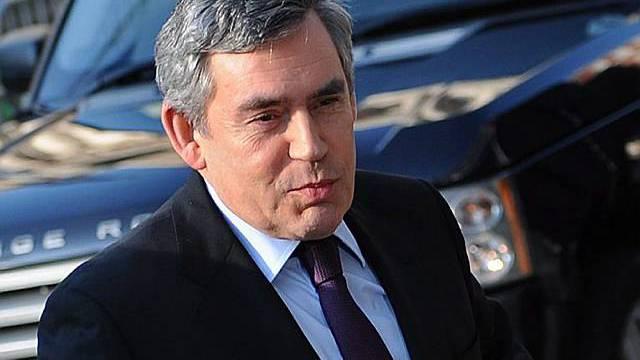 Brown verteidigt die Politik zum Irak-Einmarsch