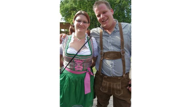Schirmherr Michi Keel mit Gattin Rita.