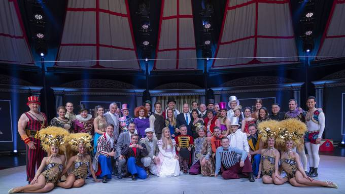 Knie Circus Musical - Welturaufführung mit Fürst Albert II. als Ehrengast