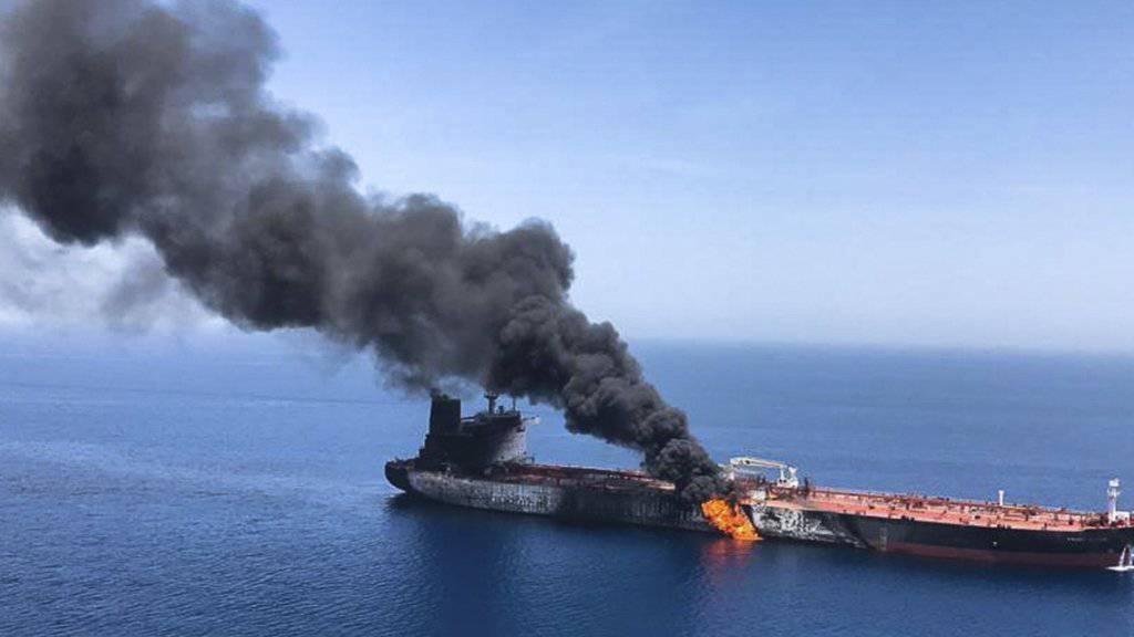 Die Islamische Republik Iran hat am Donnerstag in New York jegliche Verantwortung im Zusammenhang mit den Angriffen auf Öltanker im Golf von Oman von sich gewiesen.