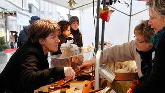 Das ist Markt: Auswahl und Beratung.  Fotos: Hanspeter BÄrtschi
