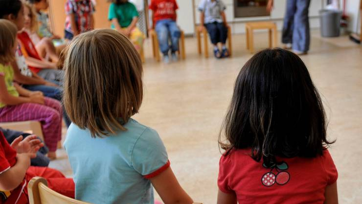 Die SD will, dass in Kindergärten nur noch Mundart gesprochen wird.  (Foto: Keystone)