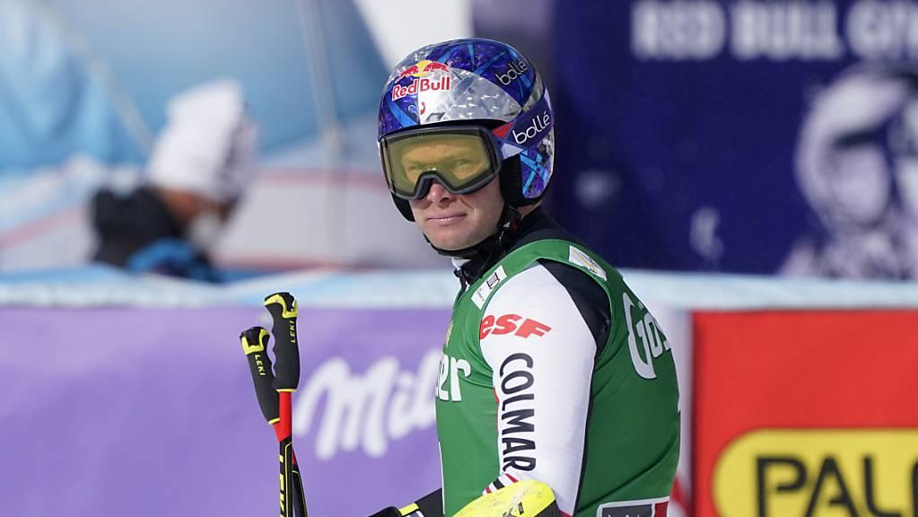 Alexis Pinturault zeigte in Saalbach Nerven – wie schon im WM-Riesenslalom.