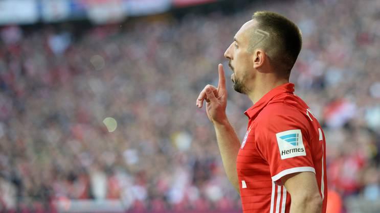 Franck Ribery bringt seine Kritiker zum Schweigen.