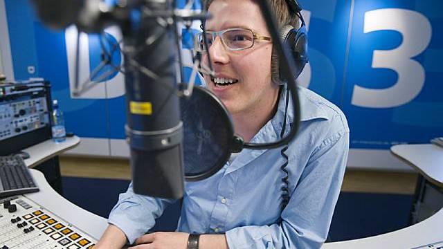 Ein Journalist von Radio DRS 3 (Archiv)