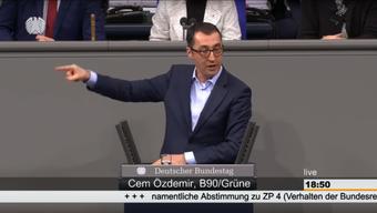 Emotionale Debatte im deutschen Bundestag über das Verhalten der Bundesregierung im Fall Deniz Yücel (22.02.2018).