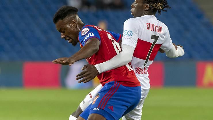 Wusste in der Vorbereitung zu überzeugen: FCB-Talent Afimico Pululu