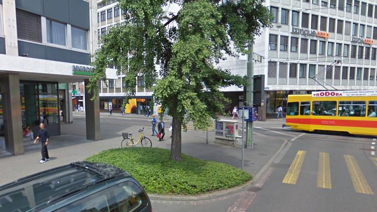Migros Bank am Aeschenplatz.
