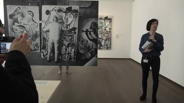 Spot an für die «Picasso-Story» im Kunstmuseum Basel