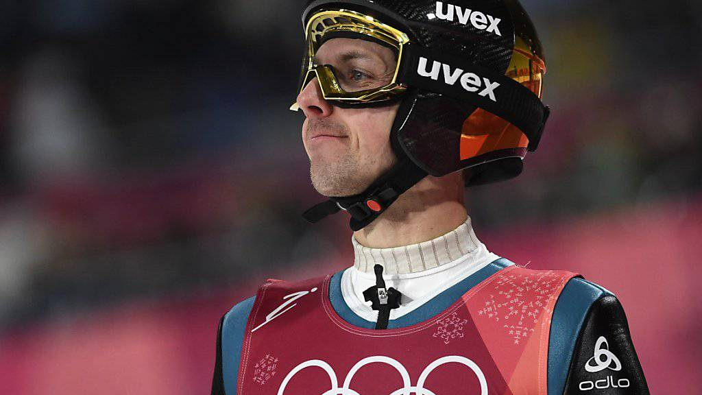 Gute Leistung in der Qualifikation: Simon Ammann