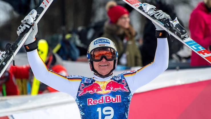 Thomas Dressen feierte ausgerechnet auf der Streif seinen ersten Weltcup-Sieg