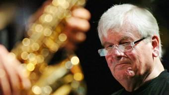 Wichtigster Botschafter des Schweizer Jazz: George Gruntz, hier am Jazz Festival in Schaffhausen im Jahr 2005.Keystone