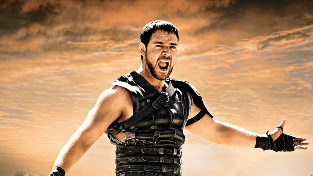 Der damals 36-jährige Russell Crowe in Gladiator. (Bild: pd)