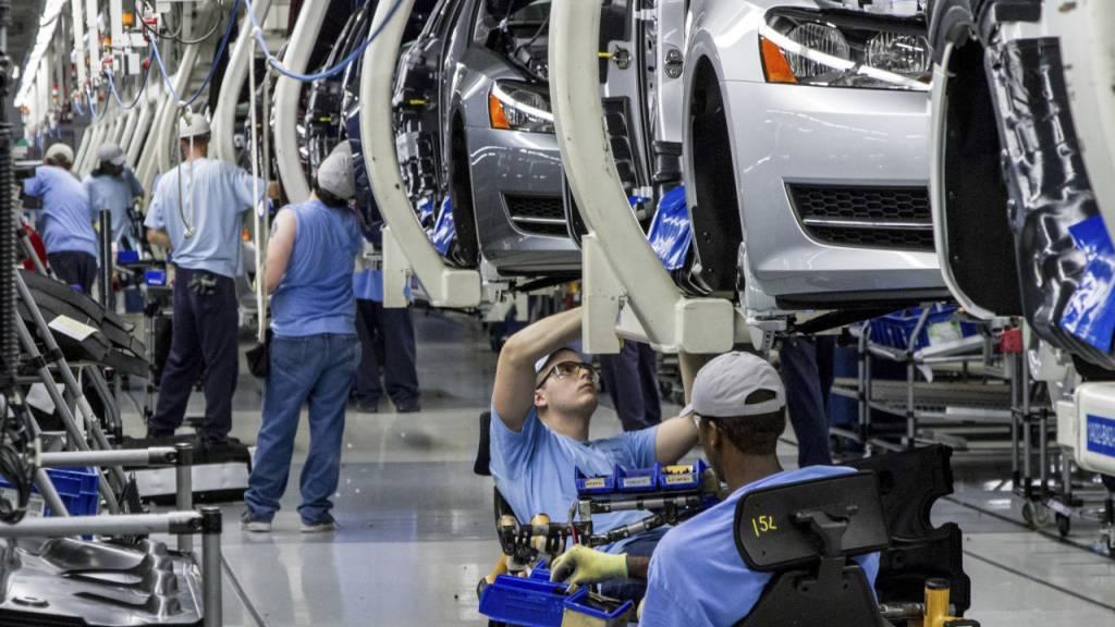 Deutsche Produktion steigt weiter – aber nur leicht