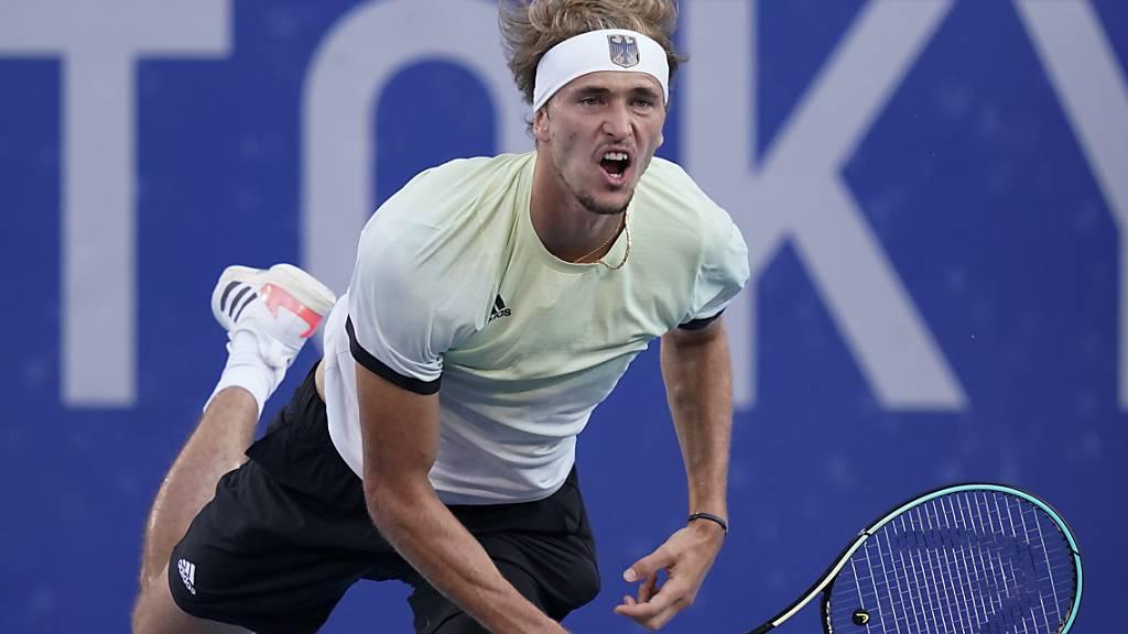 Alexander Zverev dominierte das Tennisturnier der Männer